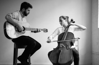 Tom W & cello player