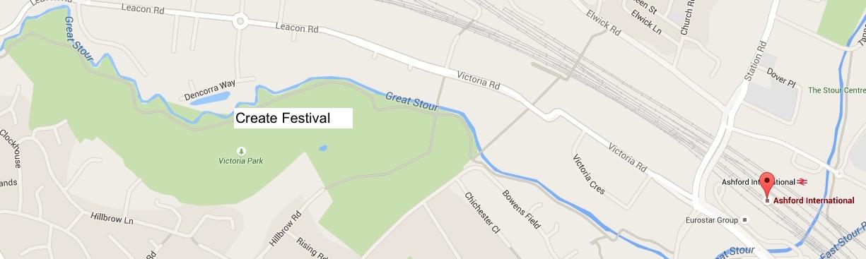 create festival map